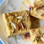 Mohanthal/Chickpea flour fudge