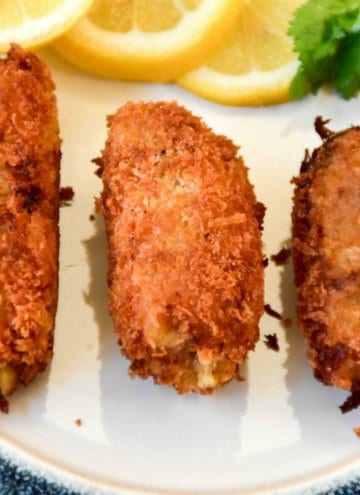 Spicy Salted Pollack Croquettes
