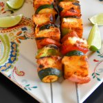 Tandoori paneer skewers with Vegetables #RecipeMakeover