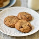 Coconut oil chocolate chip cookies #RecipeMakeover