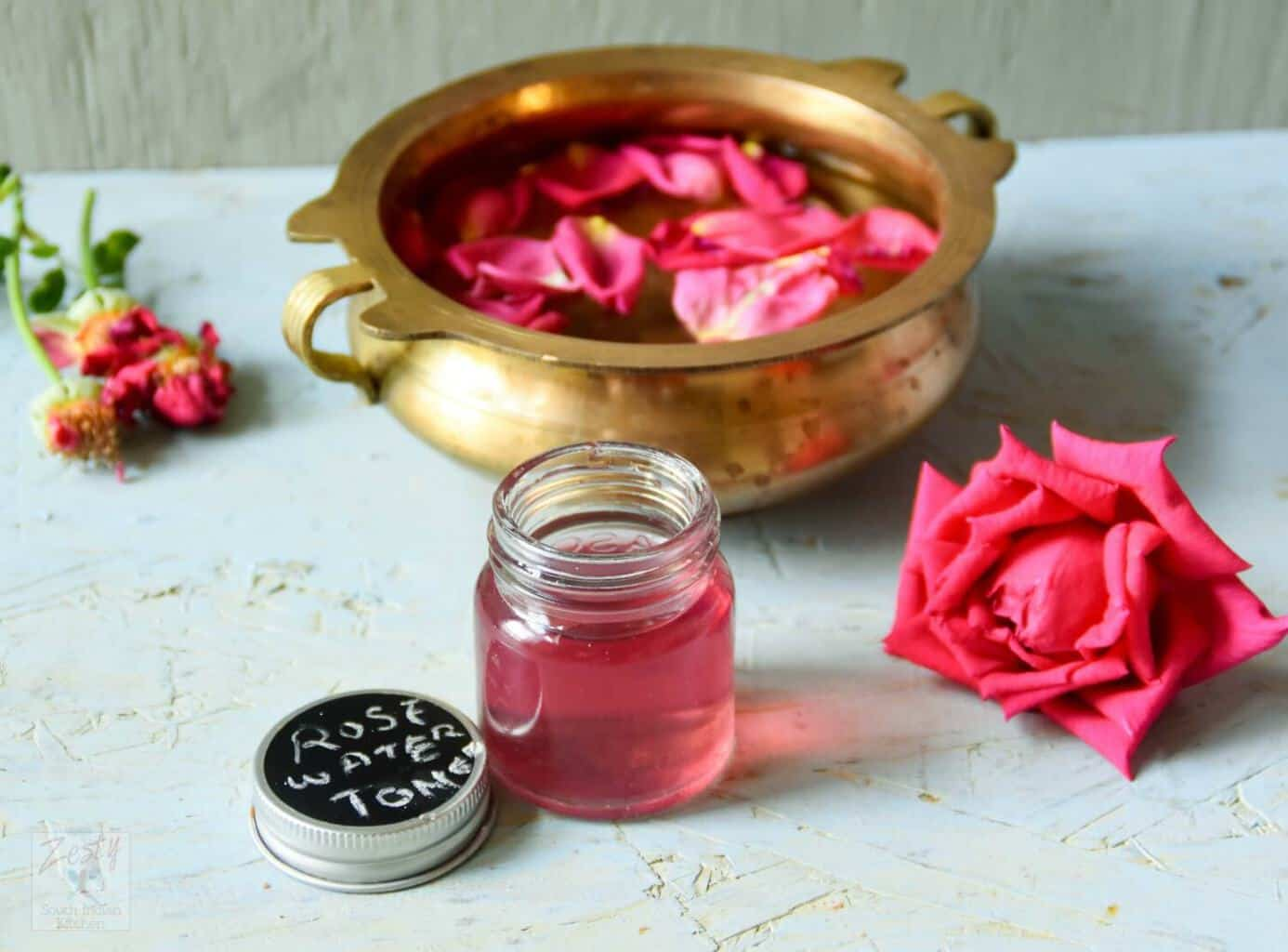 Rosewater Toner Diy And Book Review Zesty South Indian Kitchen