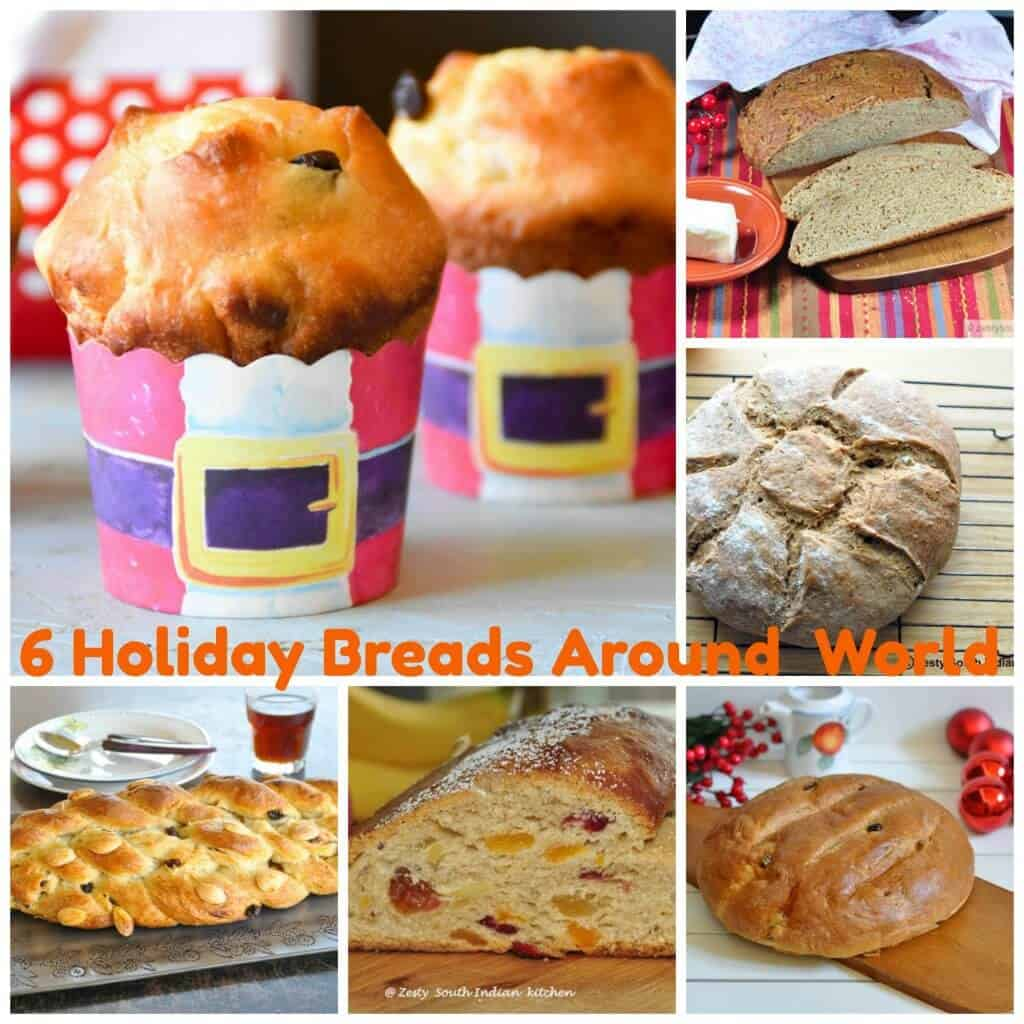 Holiday Yeast Breads from Around the World from My Kitchen - Zesty ...