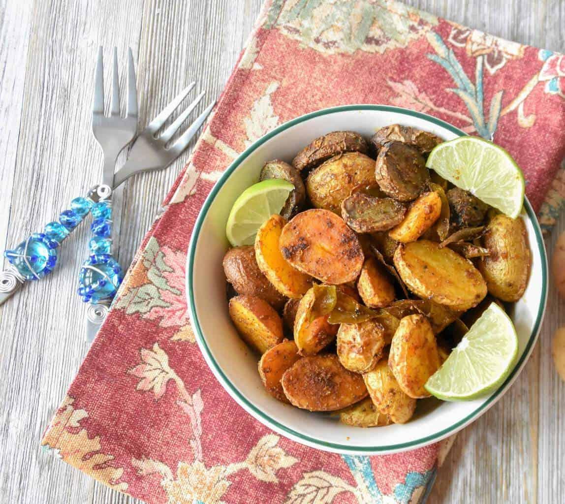 Spiced Roasted Potatoes