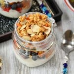 Breakfast Fruit and Carrot Parfaits