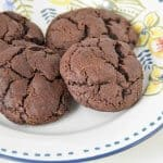 Chocolate Crackle Cookies