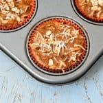 Pichuberry Oats Coconut Yogurt Muffins