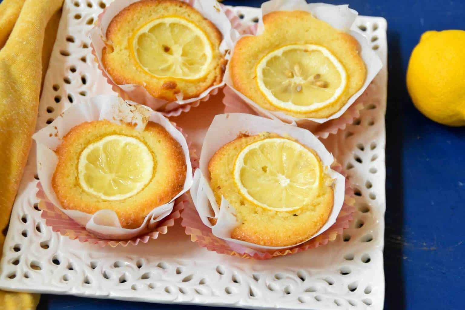 Lemon Semolina Mini Cake