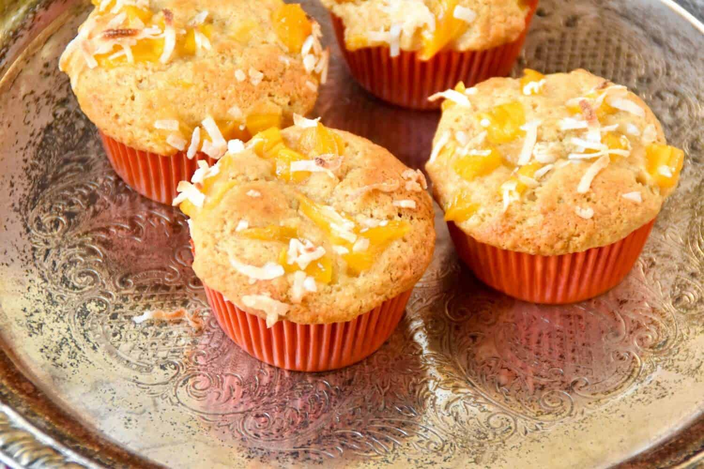 Jackfruit Coconut Muffins