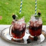 Blackberry Sweet Tea Punch