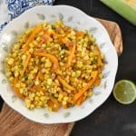 Fresh Spiced Corn Salad