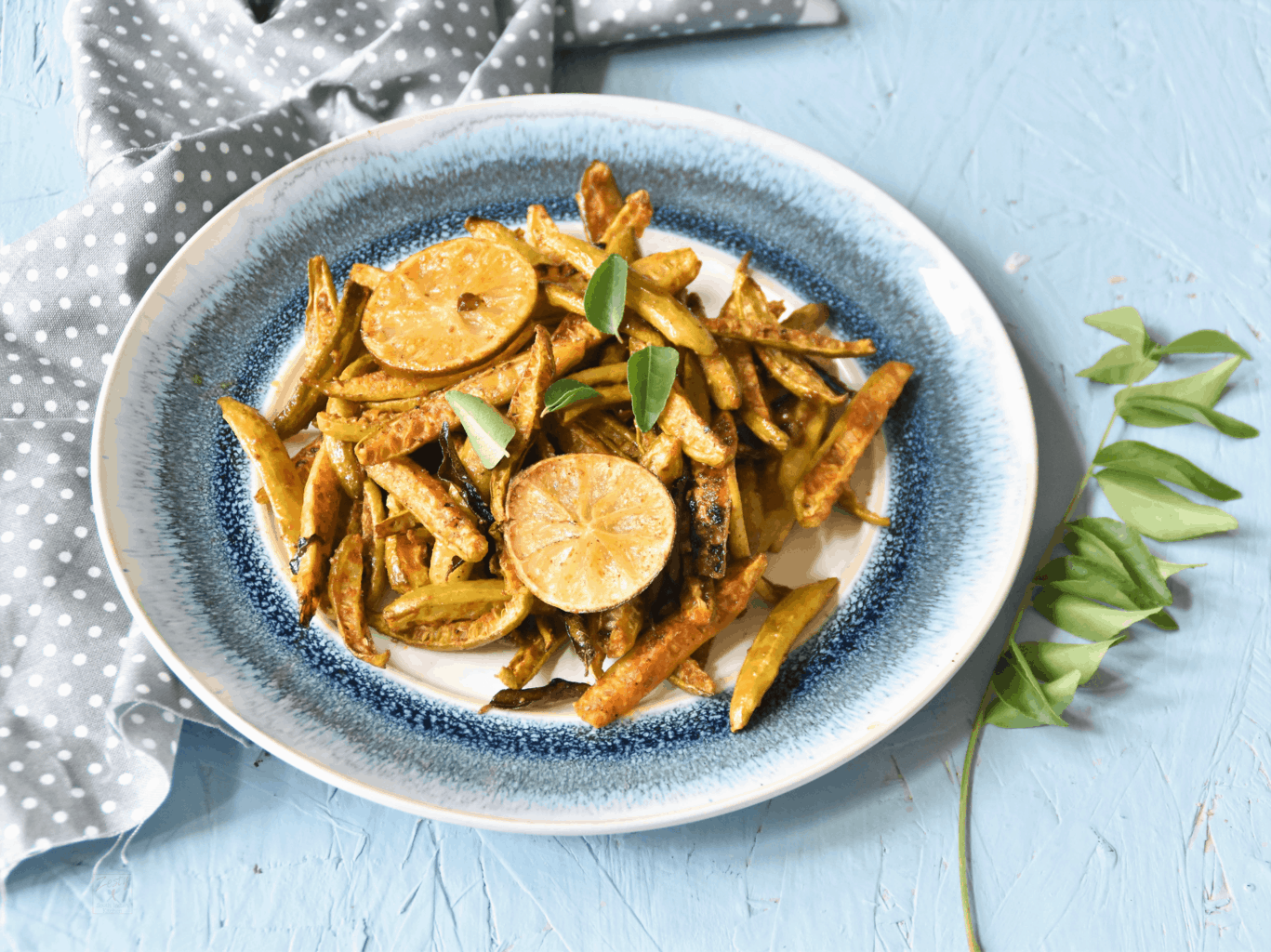 Spicy roasted Tindora/ Kovakka/ Ivy Gourd : Diabetic Friendly recipe