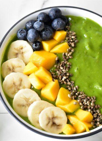 Green Smoothie bowl: Paleo, Vegan