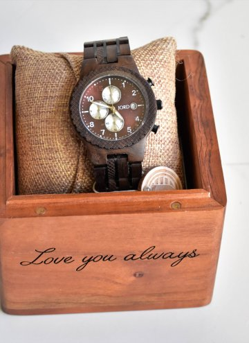 Gift for Him JORD Watch and Giveaway