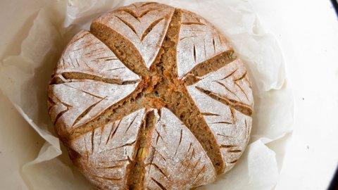 Black Bread of Val d' Aosta or Pan Ner