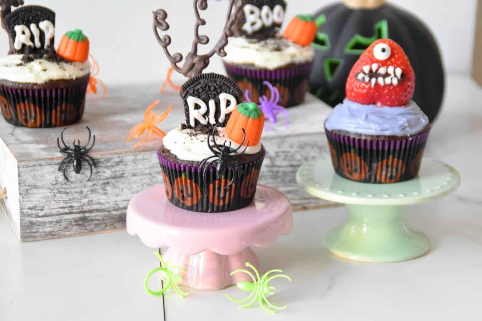 "<img src=""https://cdn.shortpixel.ai/client/q_glossy,ret_img,w_4096,h_2730/Halloween cupcakes.jpg"" alt=""Graveyard cupcakes "">"
