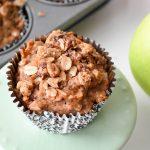 Sourdough Apple Muffins